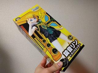"""初音ミク Project DIVA Arcade Future Tone スーパープレミアムフィギュア""""鏡音リン-トランスミッター"""""""