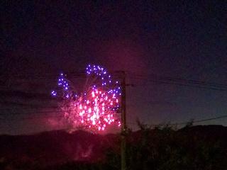 2016滝沢市産業まつり花火