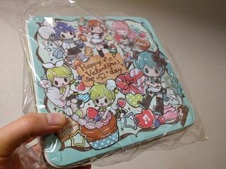 初音ミクシリーズ プレミアムバレンタインお菓子缶2017