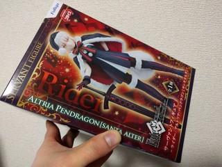 サーヴァントフィギュア〜ライダー/アルトリア・ペンドラゴン[サンタオルタ]〜