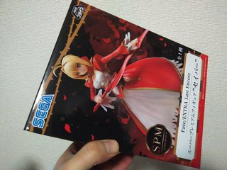 "Fate/EXTRA Last Encore スーパープレミアムフィギュア""セイバー"""